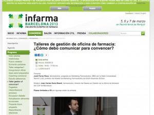 talleres-de-gestion-de-oficina-de-farmacia-como-debo-comunicar-para-convencer-infarma-2013